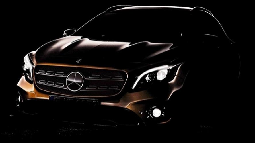 Mercedes GLA restyling, ormai vede la luce