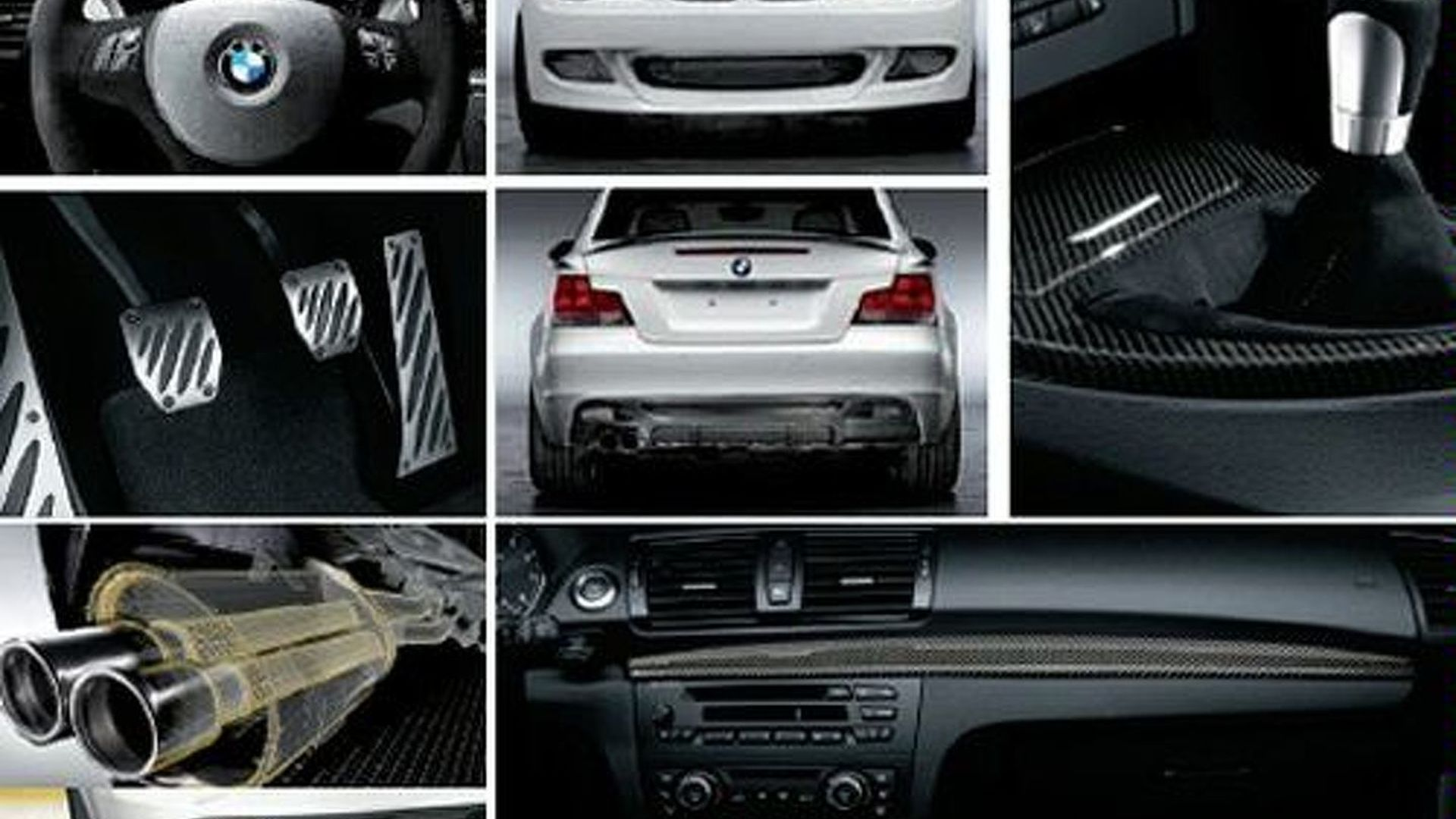 Bmw 1 Series Coupe Performance Parts Catalogue Leaked