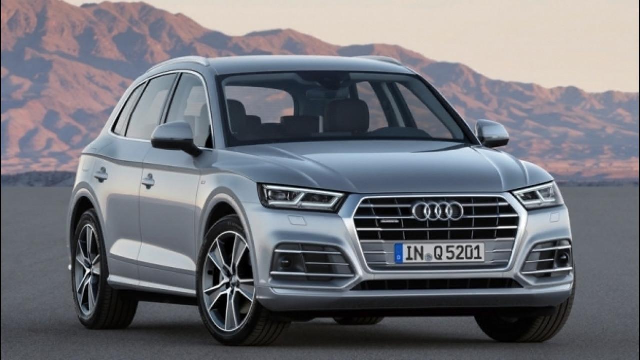 [Copertina] - Nuova Audi Q5, al via le prevendite da 48.450 euro