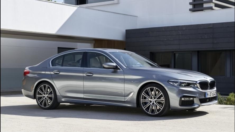 Nuova BMW Serie 5, evoluzione senza rivoluzione