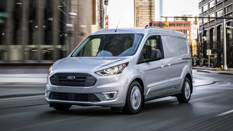 2019 Ford Transit Connect Cargo Van Adds Turbodiesel Engine