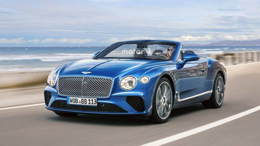 Bentley Continental GTC Rendered Ahead Of Possible Geneva Debut