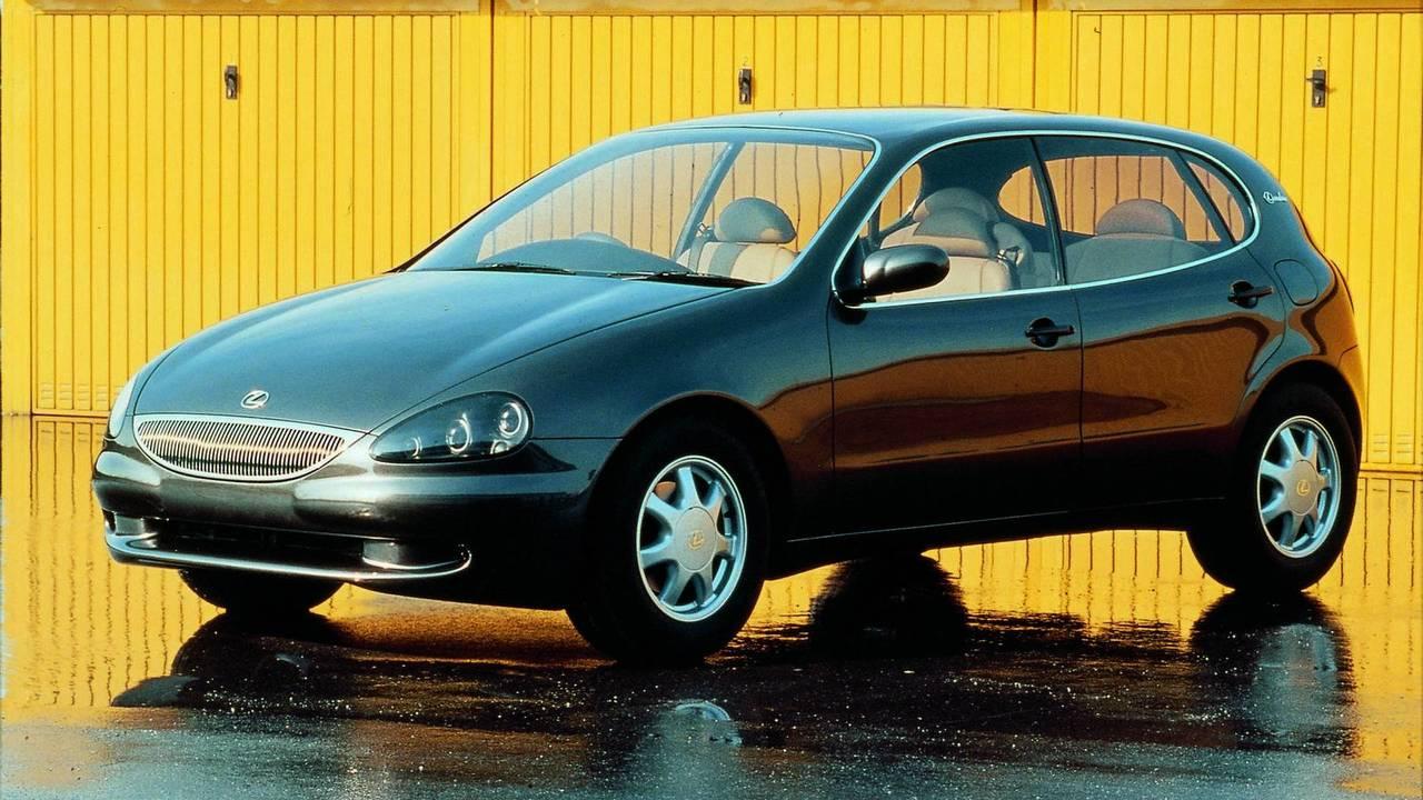 3. 1994 Lexus Landau concept