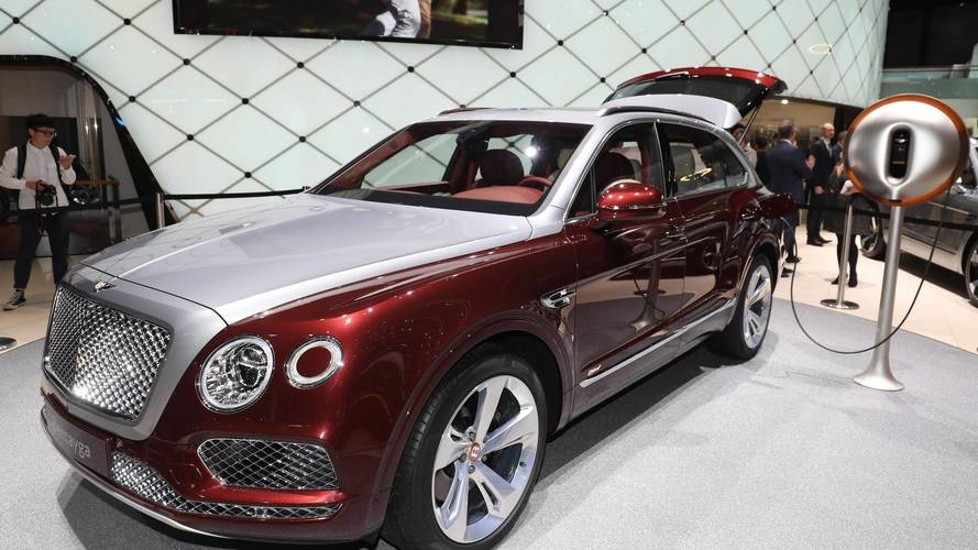 Bentley Bentayga Hybrid на Женевском автосалоне 2018