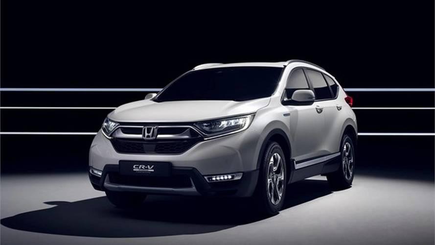 Nuova Honda CR-V, a Ginevra è nuova e ibrida