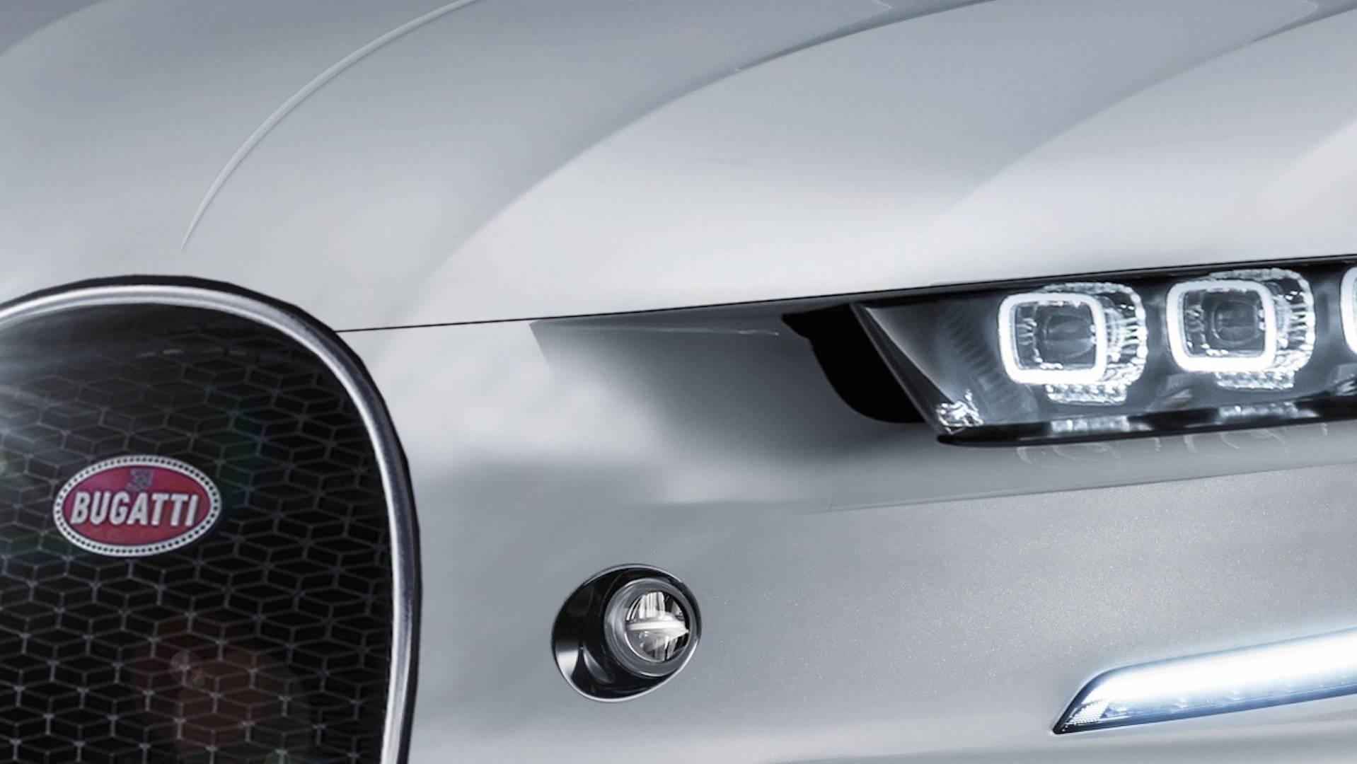 Bugatti SUV terá apenas duas portas e cerca de 1 000 cv