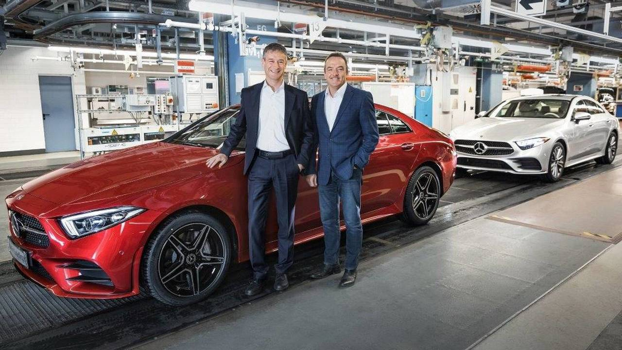 2019 Mercedes CLS production start