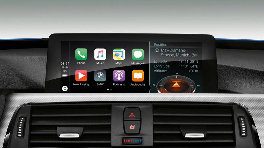 There's An Explanation Why BMW Wants $80 / Year For Apple CarPlay