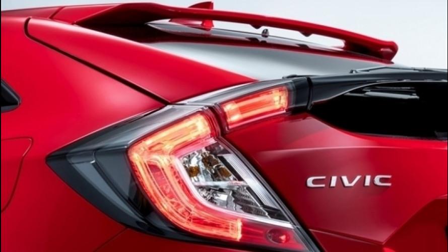 "Honda Civic, primo teaser della Hatchback ""europea"""