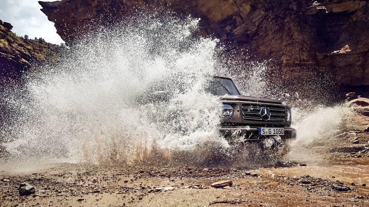 Mercedes-Benz G-Class New Teaser