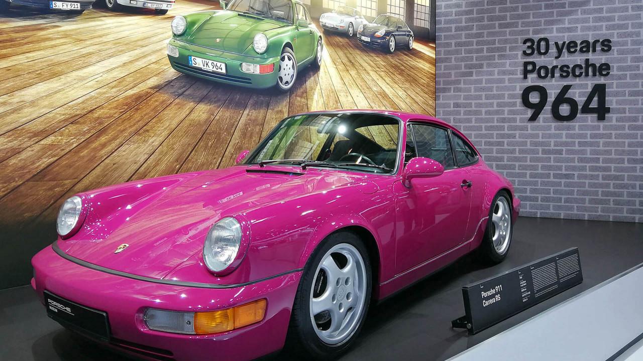 Techno Classica 2018: 30 Jahre Porsche 964