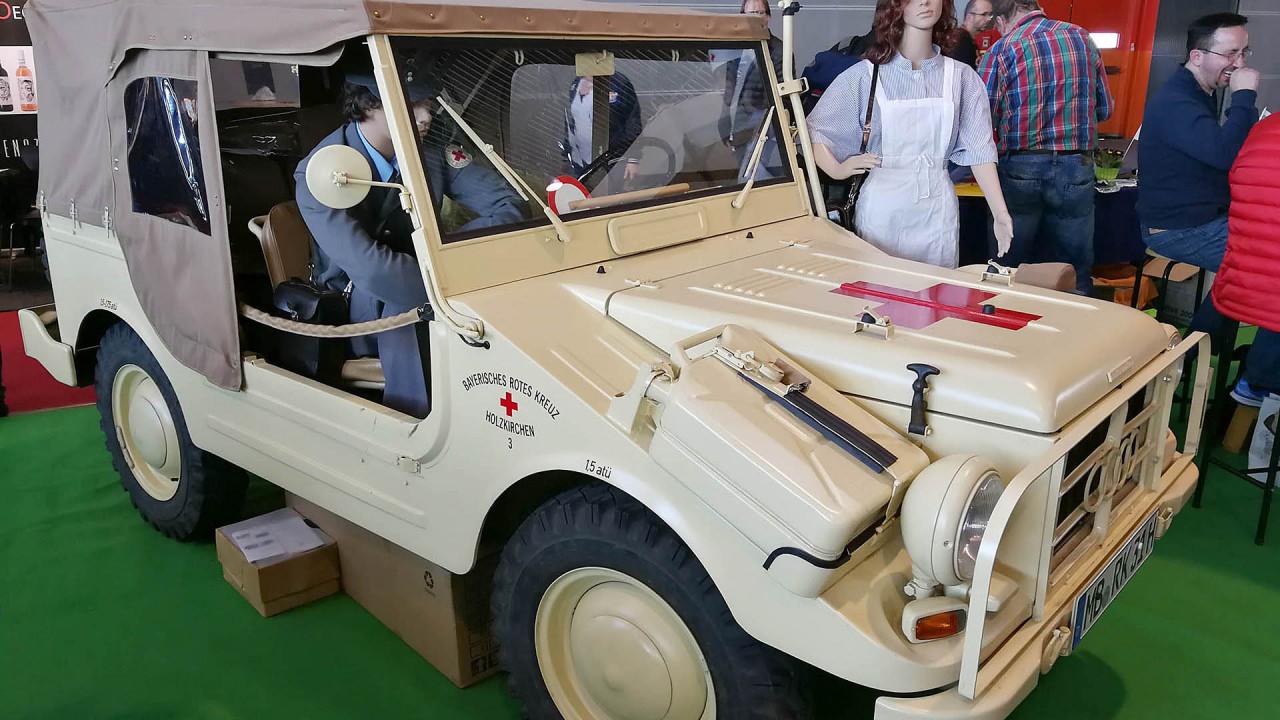 Retro Classics 2018: Einsatz für das Rote Kreuz