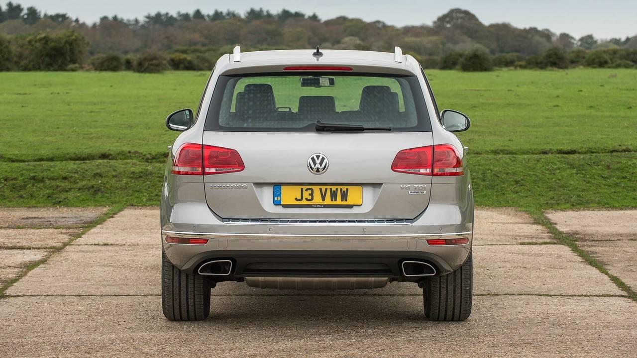 Comparativa Volkswagen Touareg 2018 vs. 2015