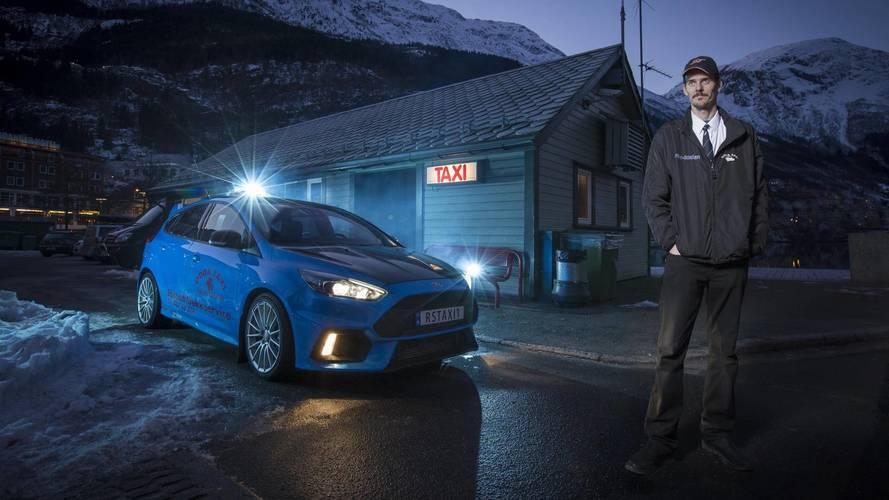 Así es el Ford Focus RS que utiliza un taxista noruego a diario