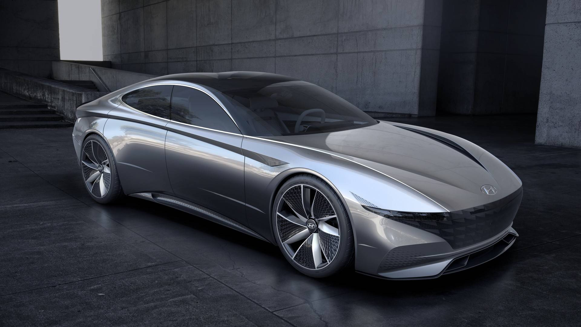 Hyundai Giving 2020 Sonata Four Door Coupe Styling