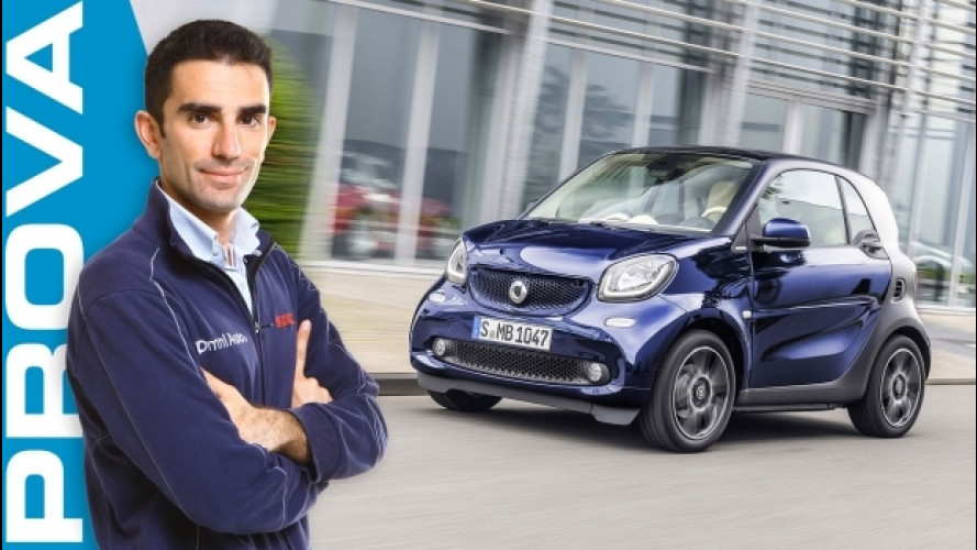 smart fortwo Brabus, la sportiva per la città [VIDEO]