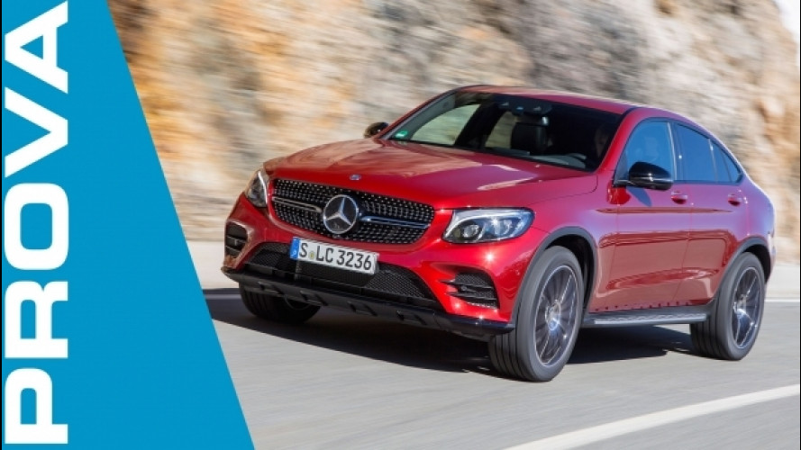 Mercedes GLC Coupé, sintesi di opposti [VIDEO]