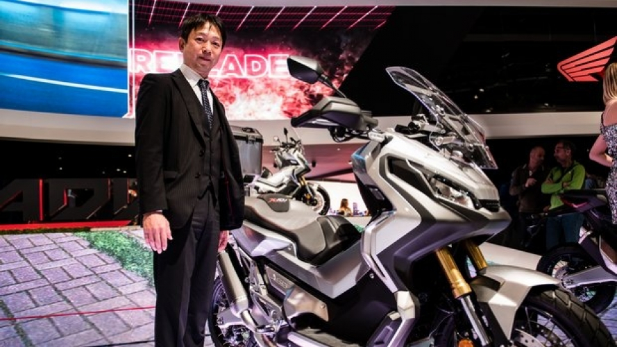 Intervista al Project Leader dell'Honda X-ADV
