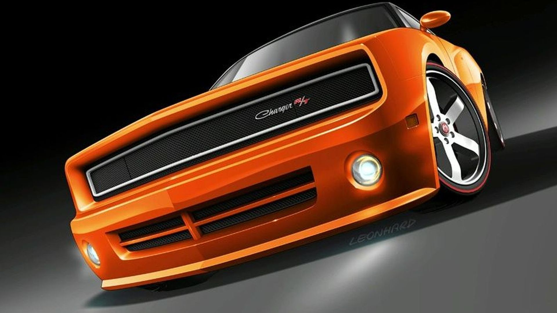 Rendered Speculation 2010 Dodge Charger Concept