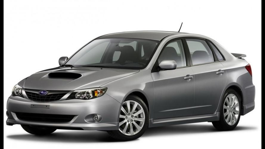 La nuova Subaru Impreza è anche berlina