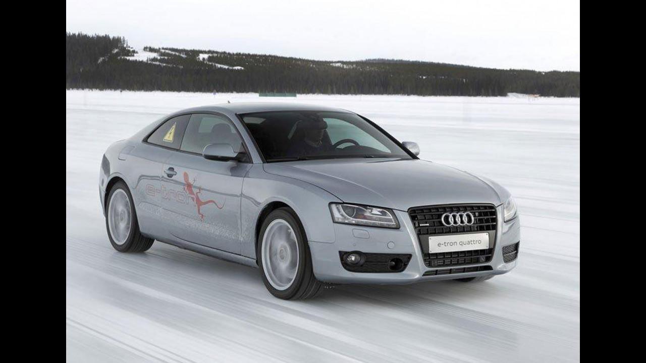 """Audi A5 e-tron quattro plug-in: l'ibrido """"doppio"""""""