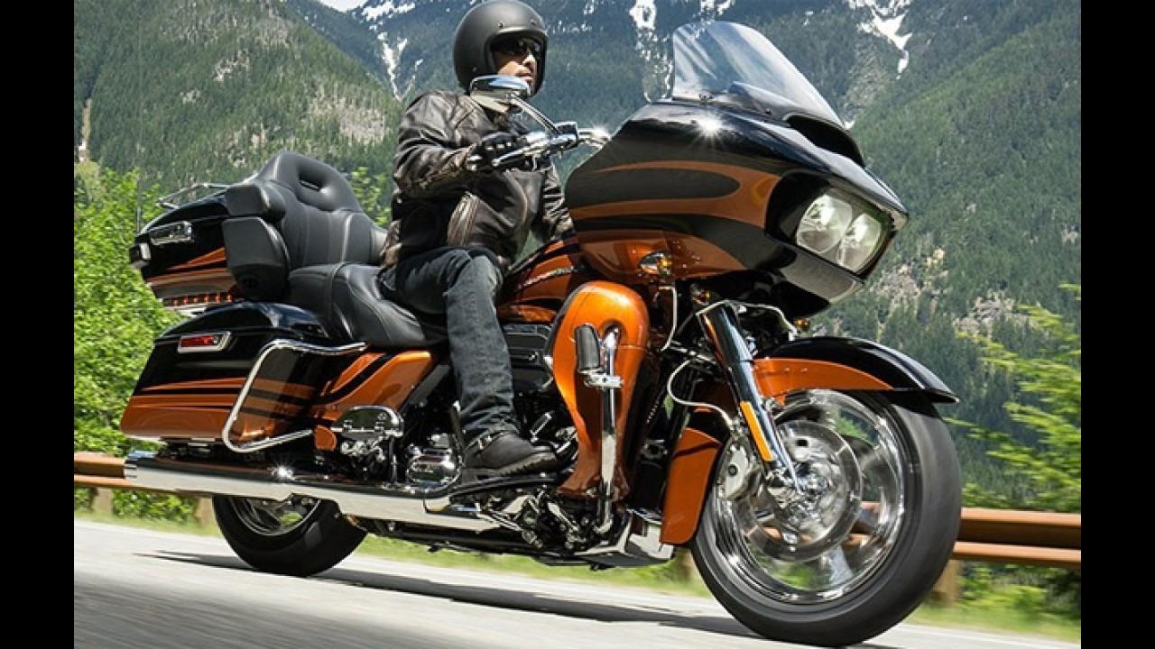 Harley-Davidson CVO 2015: Street Glide e Road Glide Ultra