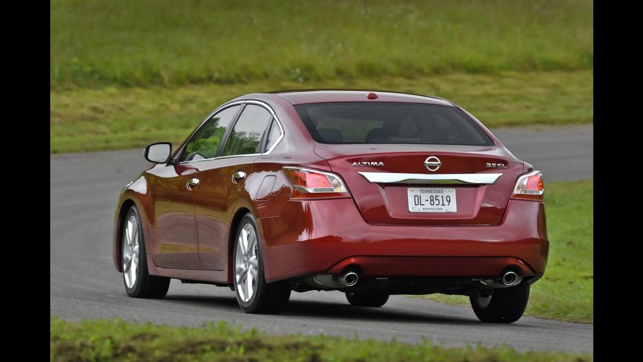 Nissan Altima 2013 já tem pré-venda no México - Preço inicial equivale a R$ 46.930,00