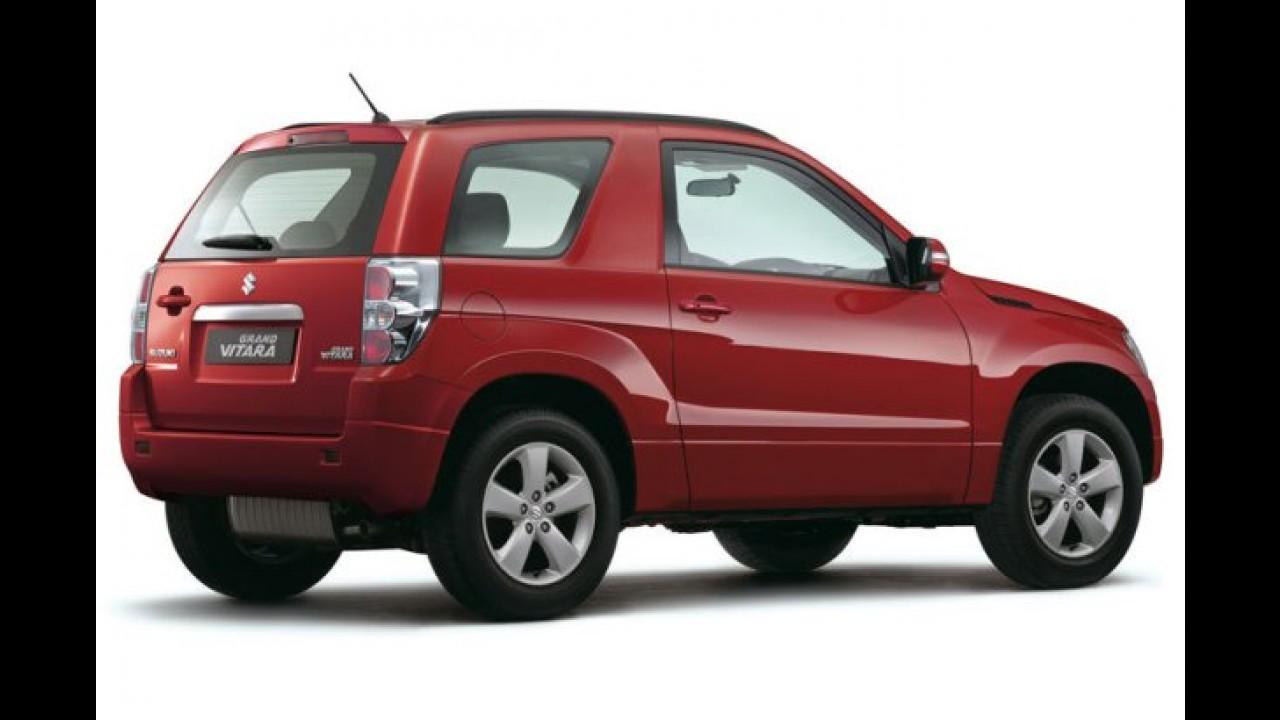 Suzuki Grand Vitara 2010 muda o visual e