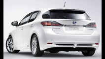 Lexus divulga detalhes do hatch híbrido CT 200h - Veja fotos