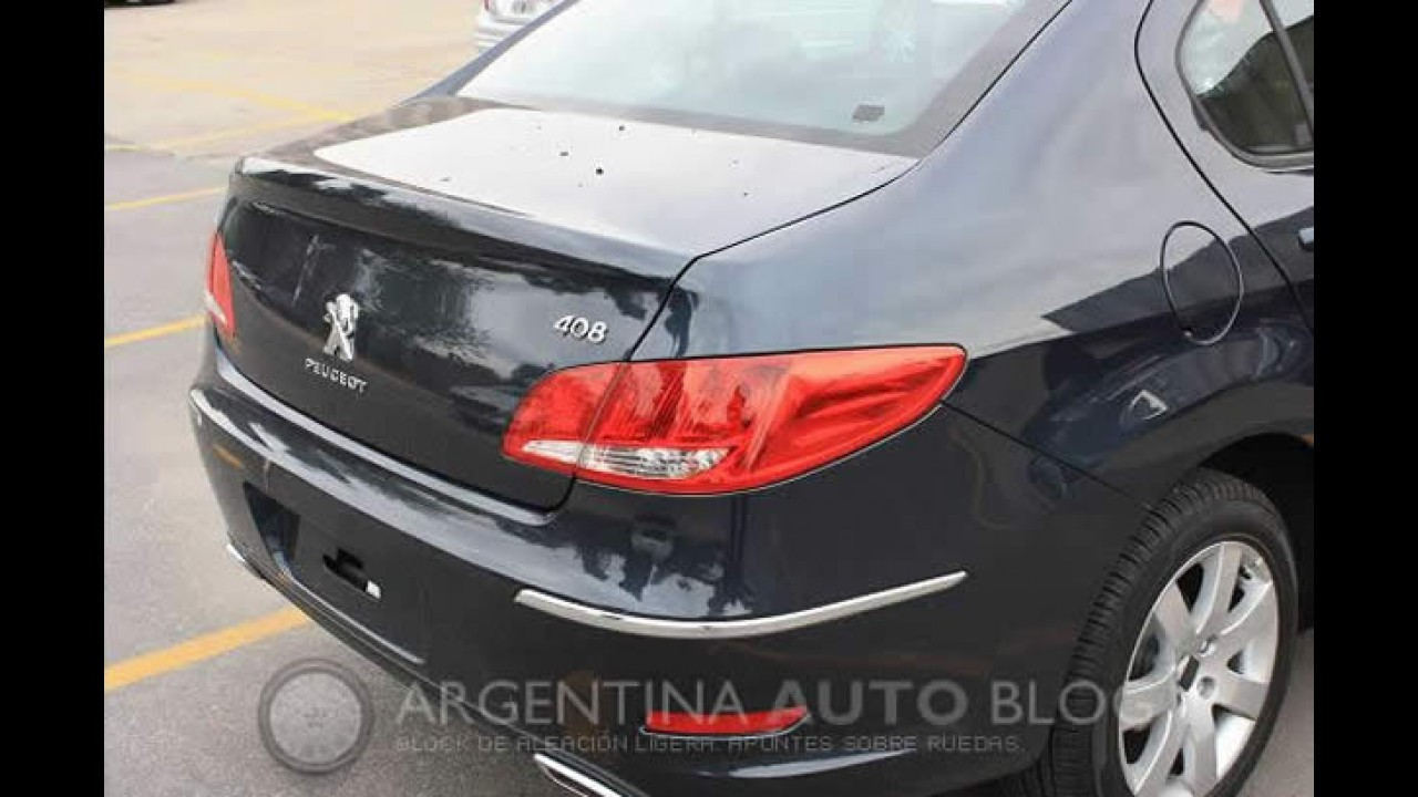 "Novo Peugeot 408 2011 - Sedan é ""flagrado"" sem disfarces na Argentina"