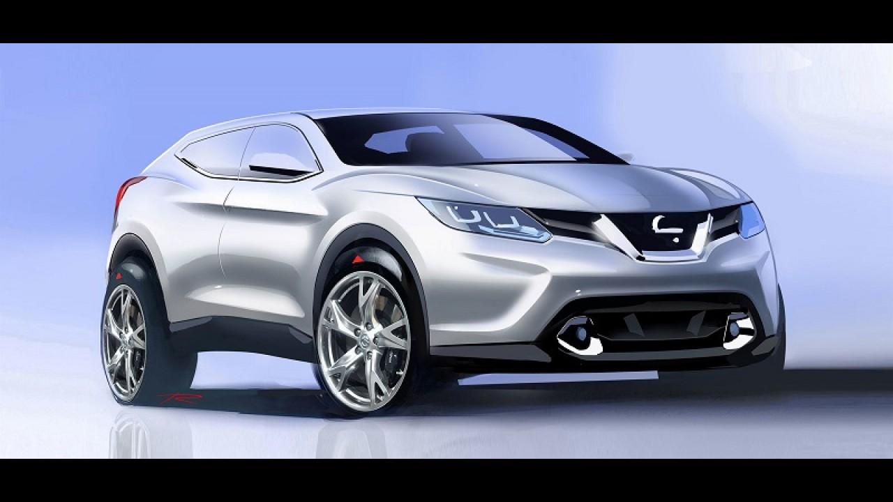 Anti-Evoque: Nissan planeja Qashqai cupê com visual mais agressivo