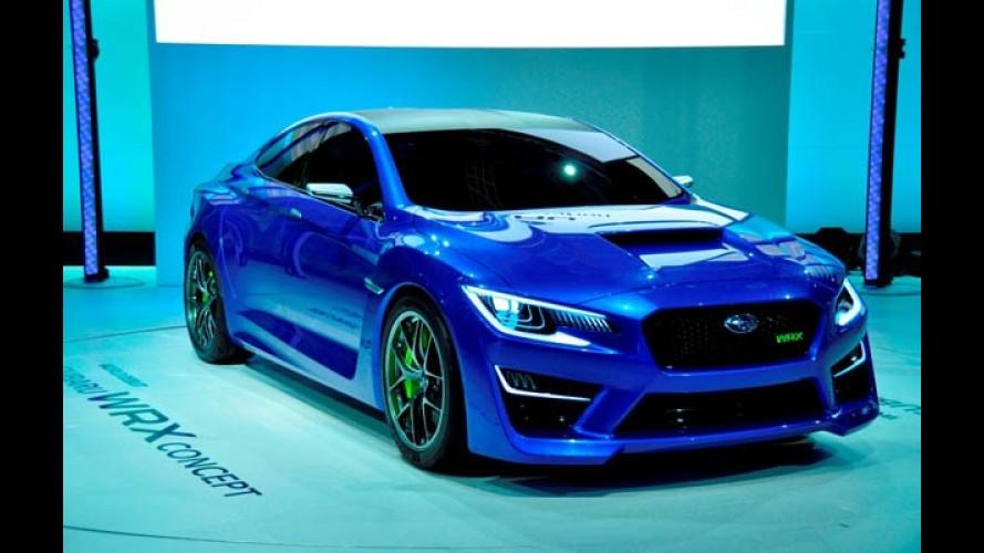 Subaru revelará novo Impreza WRX em Frankfurt