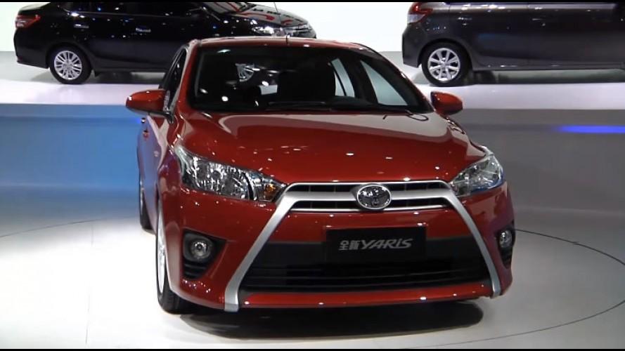 Vídeo: Toyota mostra detalhes dos novos Vios e Yaris em Xangai