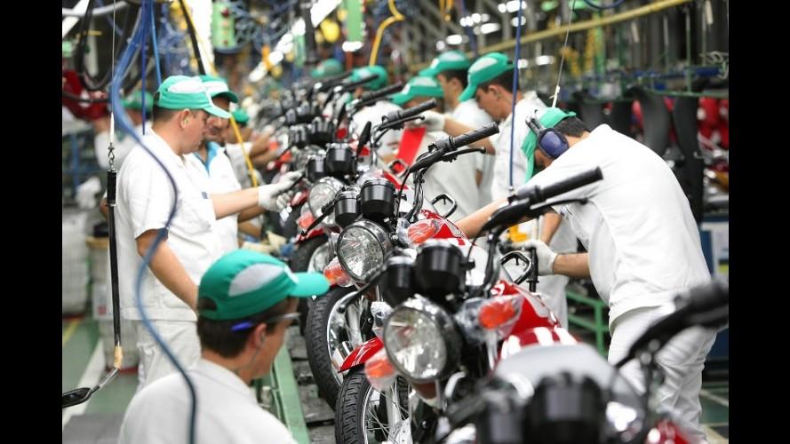Mercado duas rodas: produção e vendas no atacado registram queda no Brasil