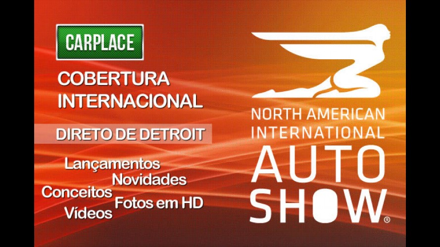 Internacional: CARPLACE fará cobertura do Salão do Automóvel de Detroit ao vivo