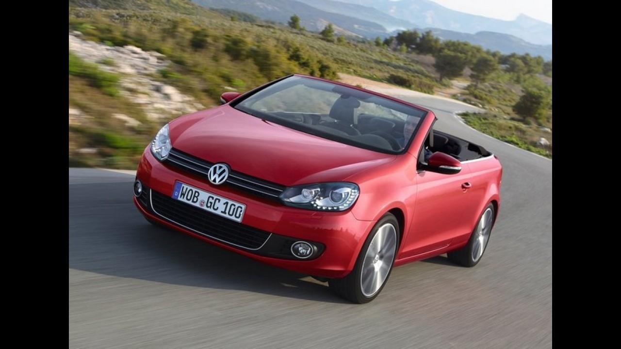 VW Golf Cabriolet Exclusive é anunciado na Alemanha