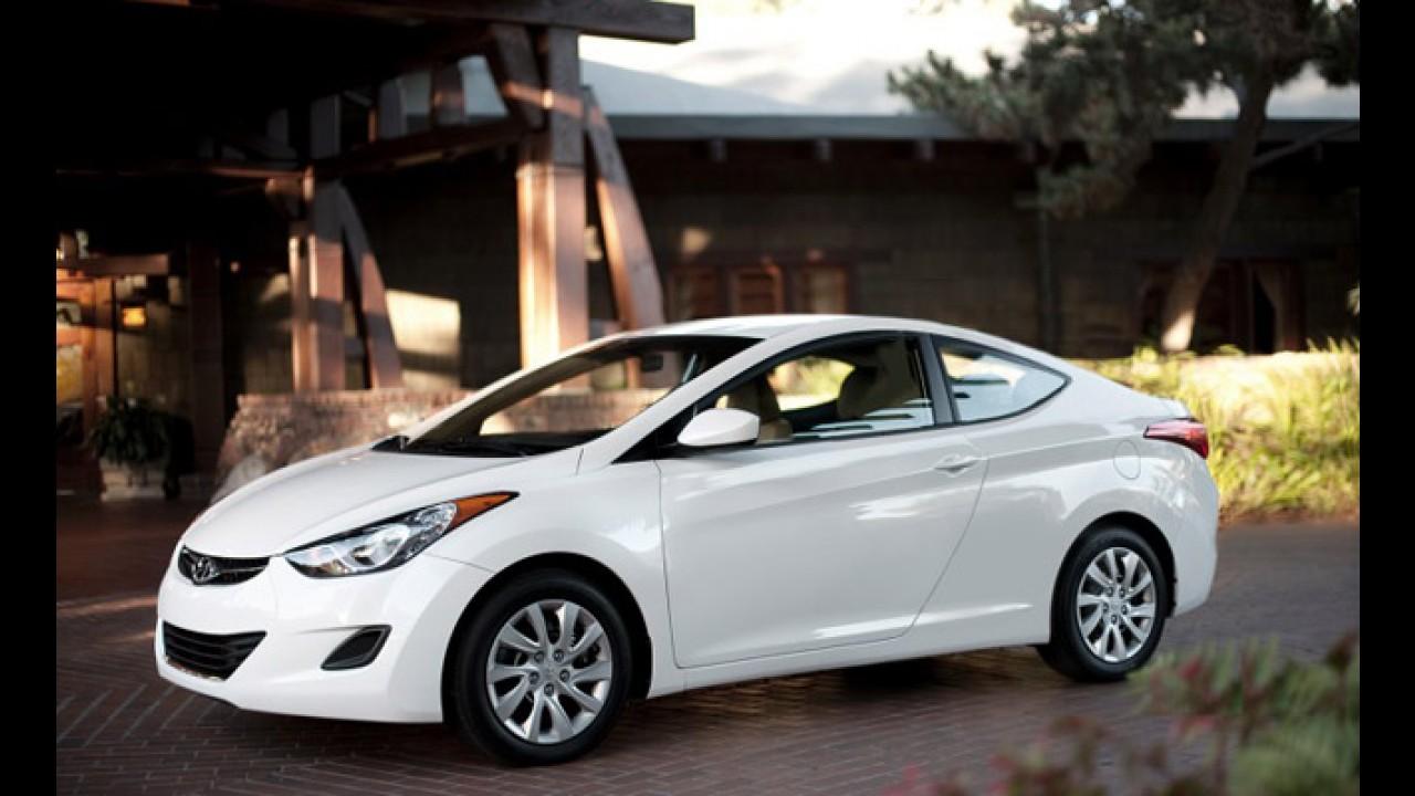 Hyundai Elantra Coupé poderá ser apresentado no Salão de Los Angeles