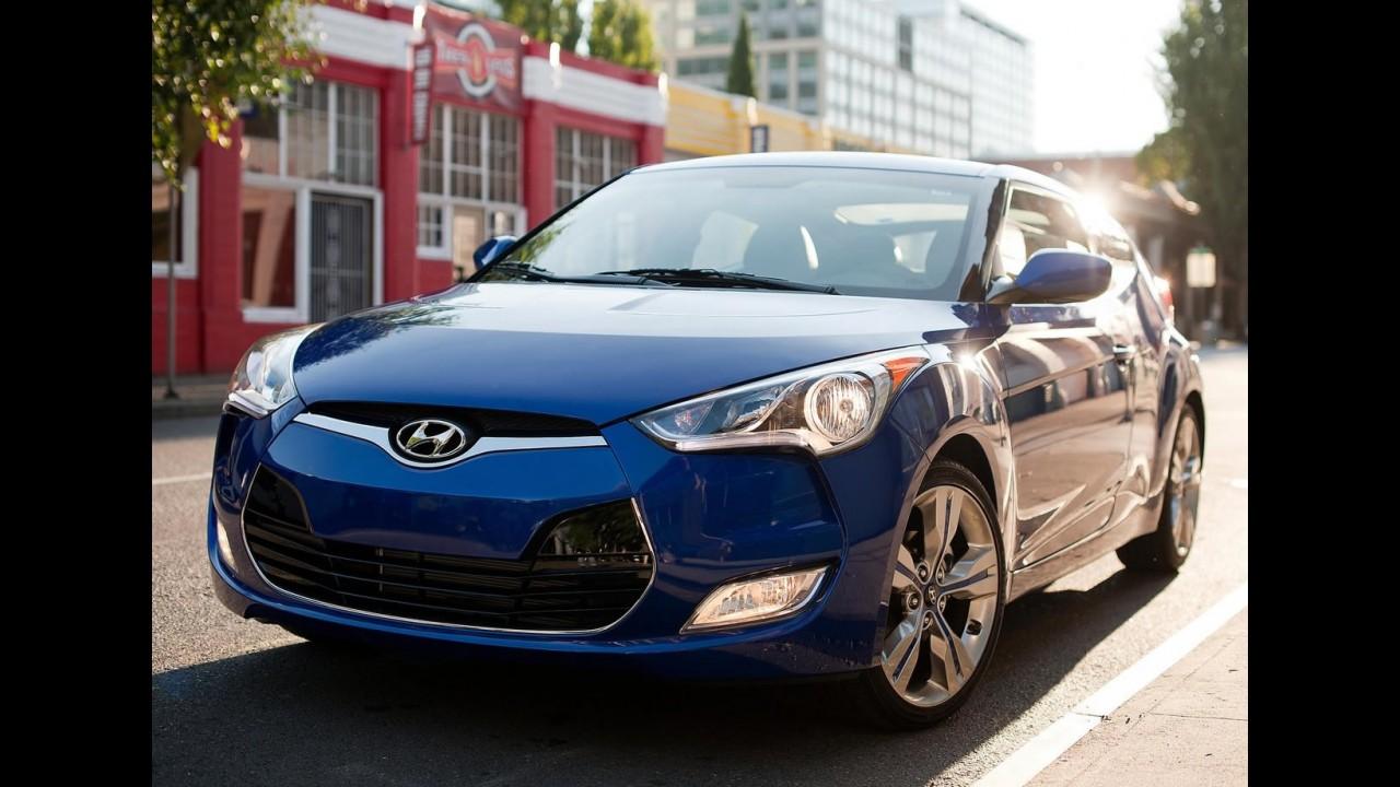 Hyundai Veloster passa por recall nos EUA para reparar problema no teto solar