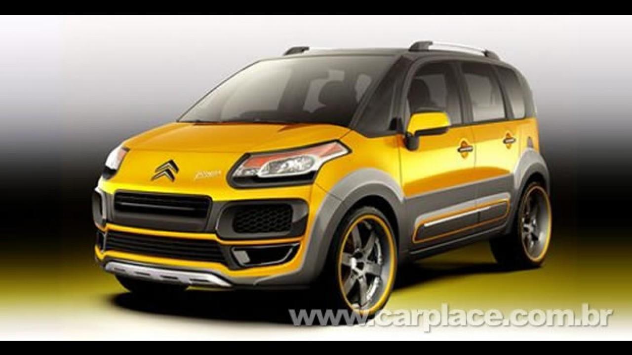 Novo Citroën C3 Picasso XTR - Será o futuro rival para o Ford Ecosport ou Kia Soul?