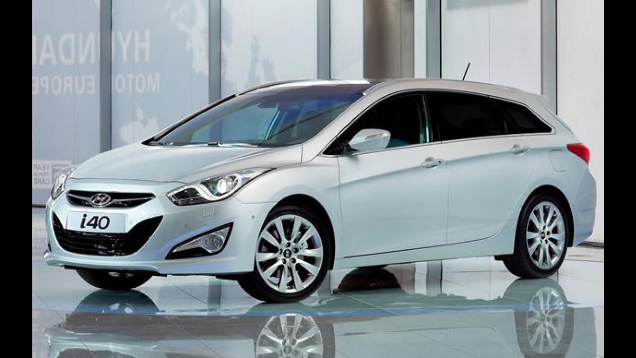 """Hyundai divulga imagem do i40 sedã - Um Sonata """"menor"""" para a Europa"""