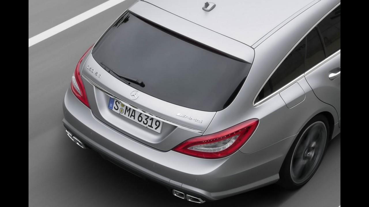 Oficial: Mercedes CLS 63 AMG Shooting Brake