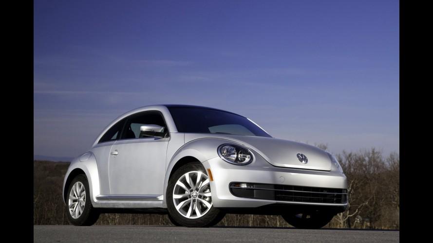 Volkswagen Beetle 2012 é convocado para recall na América do Norte por falha nos airbags