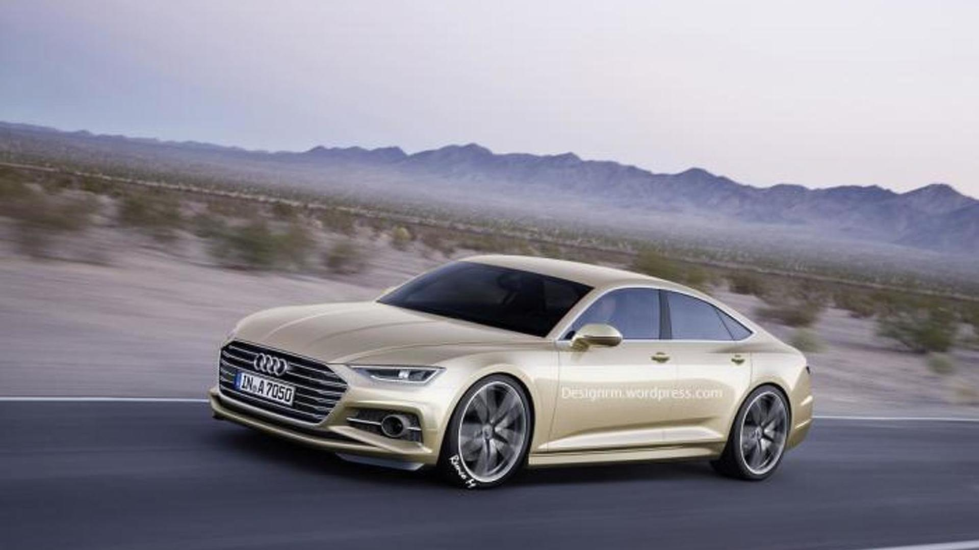 Second Generation Audi A Sportback Rendered With Prologue Concept - Audi 87