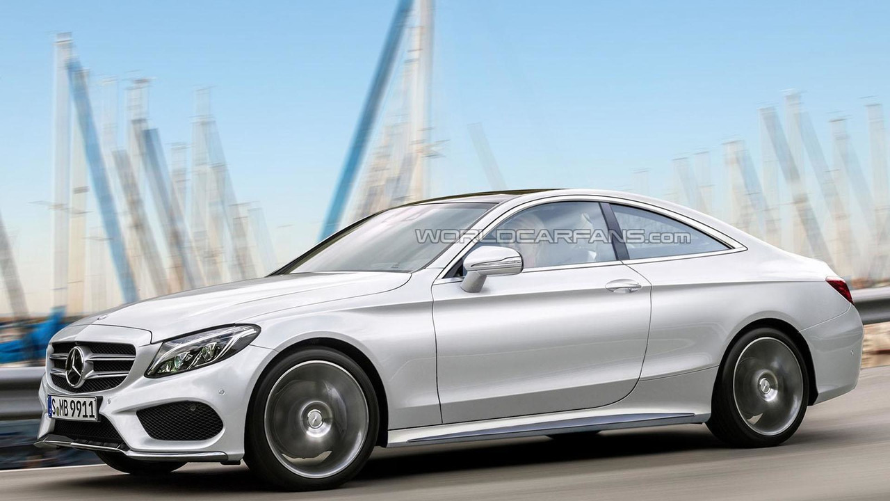 2016 Mercedes C Cl Coupe Rendering
