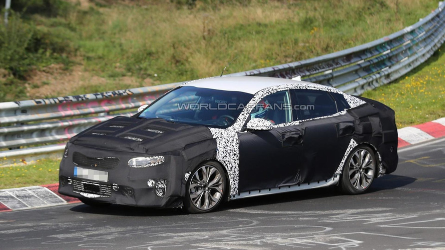 2016 Kia Optima spied for first time - inside and out