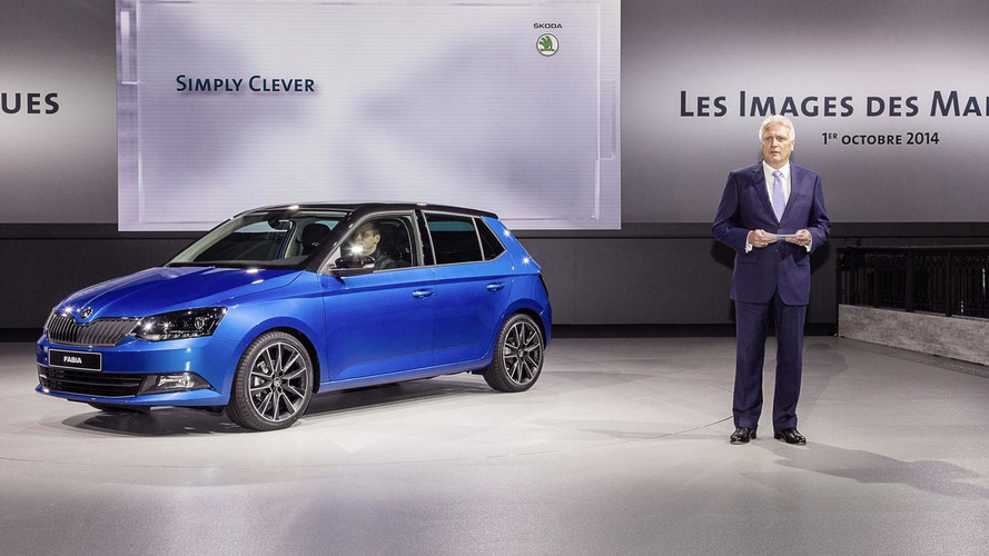 2015 Skoda Fabia bows in Paris