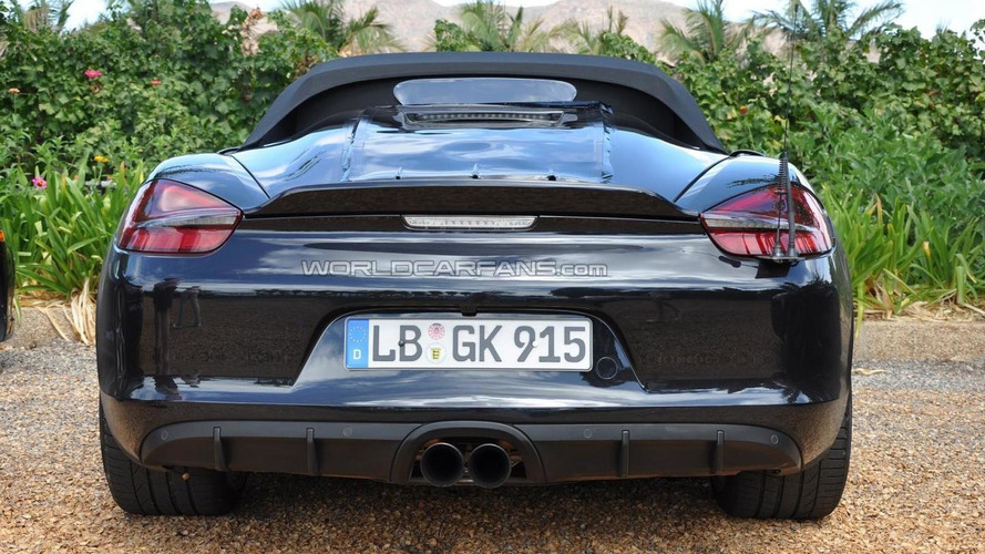Porsche Boxster Spyder allegedly getting 375 HP