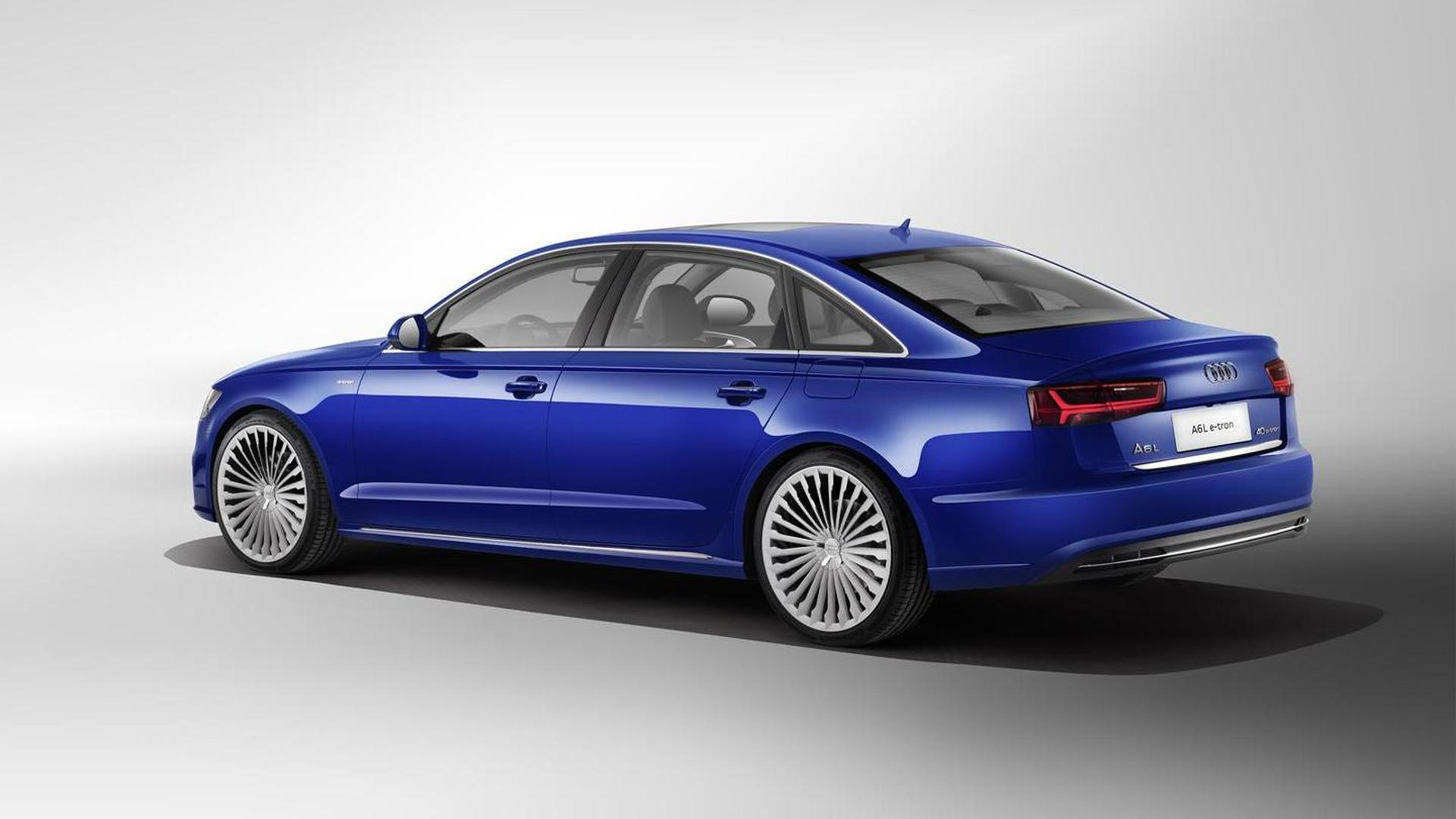 Audi A6 L E Tron Plug In Hybrid Launching China With 50 Km Electric Range And 245 Ps