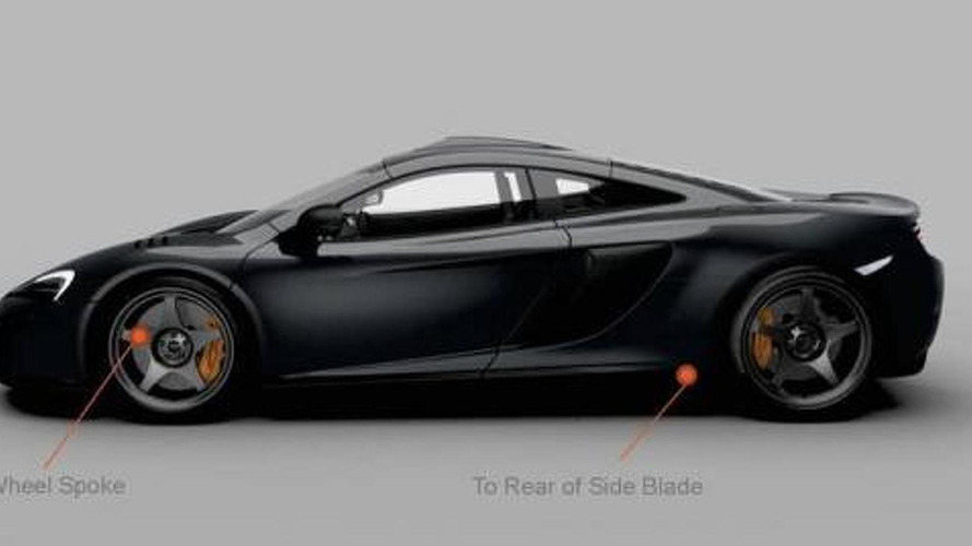 McLaren officially reveals 650S Limited Edition