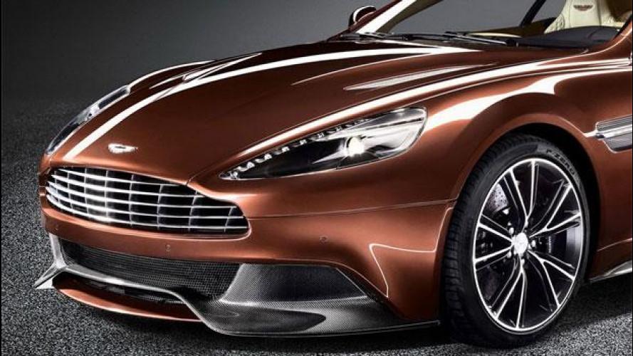 "Pirelli ""gomma"" la nuova Aston Martin Vanquish"